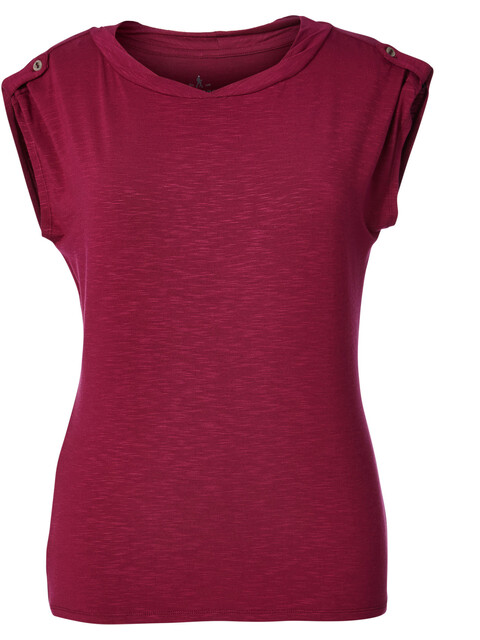 Royal Robbins Noe Twist - T-shirt manches courtes Femme - rouge